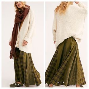 FP x CP Shades Patchwork Maxi Skirt